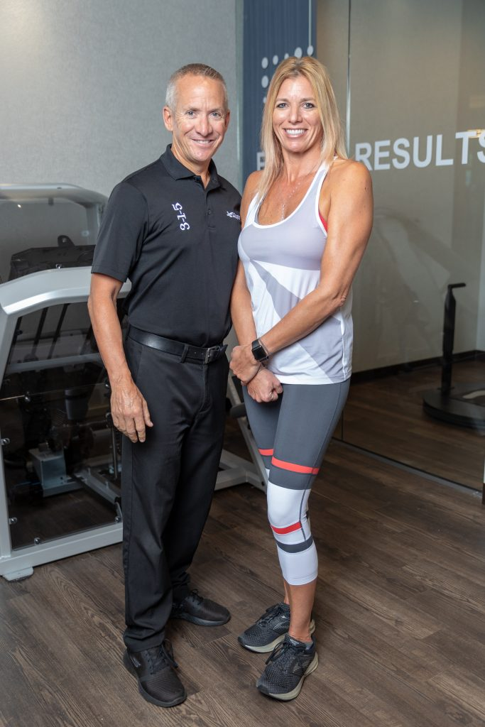 Fitness coach, Patrick and Cheryl from Palm Harbor, FL.